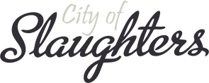 City of Slaughters Logo